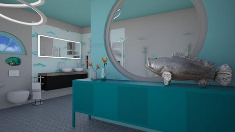 Quirky - Modern - Bathroom - by augustmoon