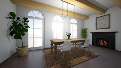 Rustic dining  - Rustic - Dining room  - by ana pogorelec