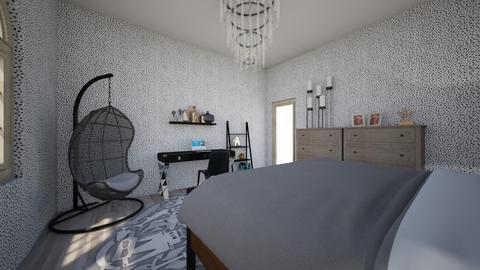 Modern bedroom - Modern - Bedroom  - by xSphinxx