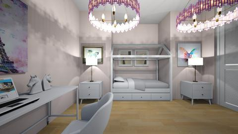 QUARTO   INFANTIO - Kids room  - by sophia  ester