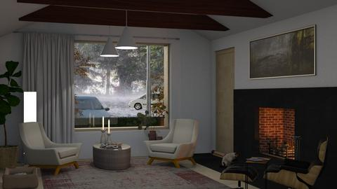 Stormy Weather - Minimal - Living room  - by Claudia Correia