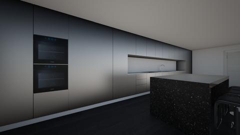 First Kitchen - Modern - Kitchen  - by Missmigalhas