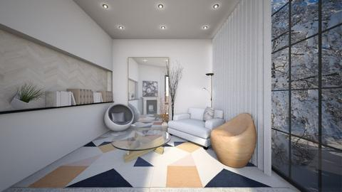 Eclectic LR - Living room  - by 2001blon