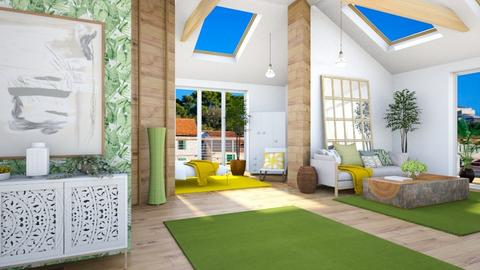 sloping ceiling - by rasty