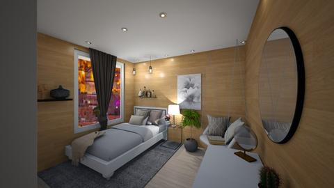 Small Bedroom 5 - Bedroom  - by Khayla Simpson