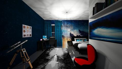 Astronomers Dream - Bedroom - by stardust1998