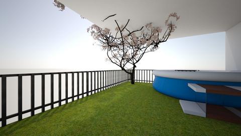 Patio and Garden - Modern - Garden  - by jthom1099