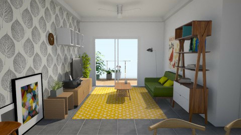 Small Apartment - Living room  - by Agnes Lai