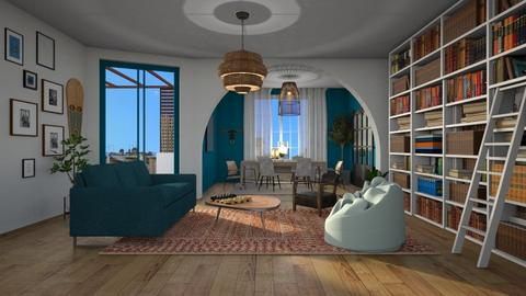 Expat - Modern - Living room  - by tolo13lolo