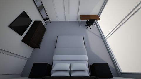Gido House - Bedroom  - by hayanatassi
