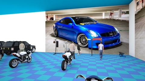 G35 blue coupe  - by juangarc1a