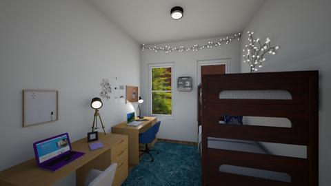 Dorm room - Bedroom  - by lilmckn