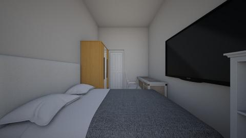 Ideal small room with TV - Modern - Bedroom  - by IMD