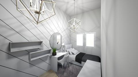 Small room Dormitory 1 - Bedroom - by Karolina Dorenda