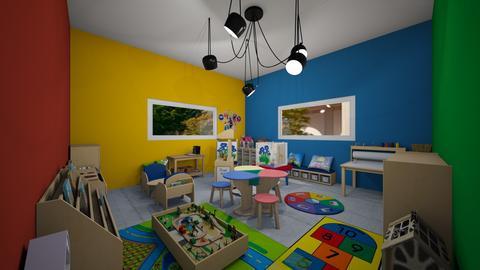 preschool play room kids  - Modern - Kids room  - by jade1111
