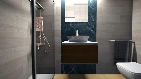 Cologno bagno ospiti29 - Bathroom - by natanibelung