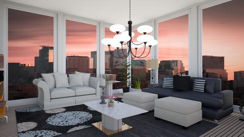 JenGar Pent - Living room  - by emivim
