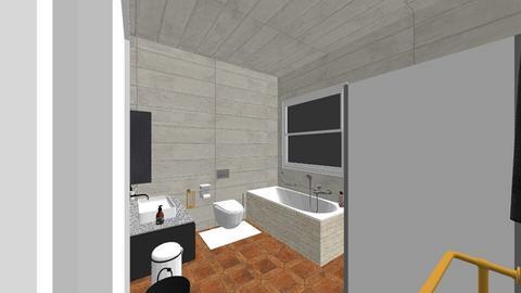 Petite en suite - Minimal - Bathroom  - by snwildrose