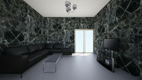 black pack - Eclectic - Living room - by doodlebug5