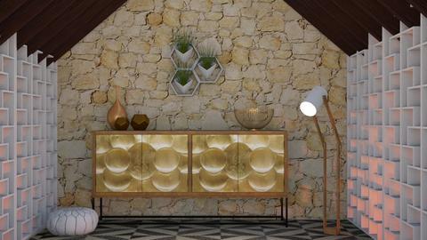 Honeycomb House - by seasidestarfish