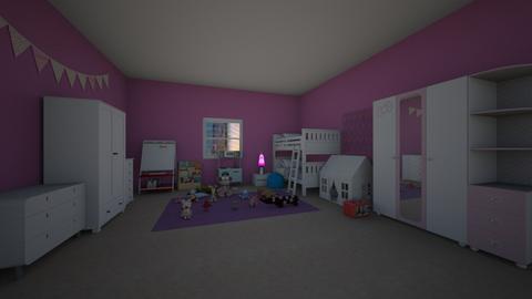 Girl room - Classic - Kids room  - by diyasriraman783