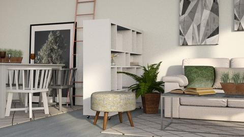 Greyish - Modern - Living room  - by stephendesign