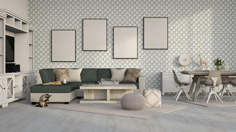 Sea Glass - Modern - Living room  - by millerfam