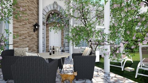 garden terrace - by ilcsi1860