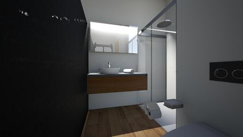 center bed bedroom - Modern - Bedroom  - by khannasid