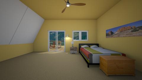 Colorado Loft - Bedroom  - by mspence03