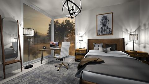 Scandinavian Bedroom - Bedroom  - by Hany Mustika
