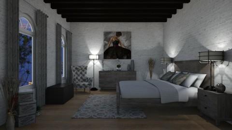BROOM2017 - Rustic - Bedroom  - by Nard8A