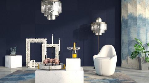 M_ Carrara - Living room - by milyca8