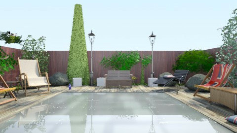 Sweet Home 14 - Modern - Garden  - by Erika Ferencz