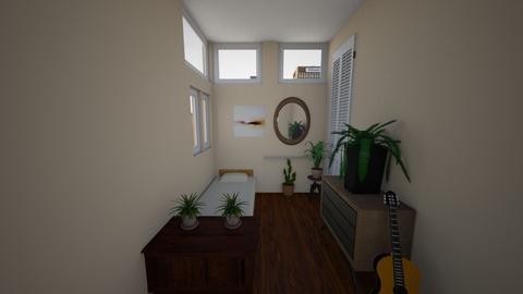 eclectic bedroom - Eclectic - Bedroom  - by lokneszikolbasz
