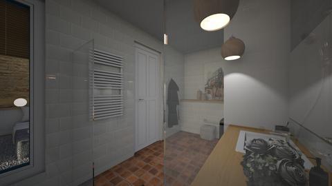 Barcelona detail 10 - Modern - Bathroom  - by Claudia Correia