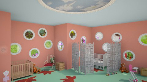 Mush Modern Baby - Bedroom - by ReneaaQ