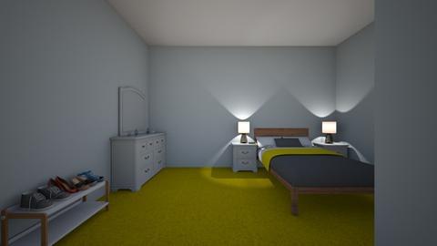 my awsome master bedroom - Bedroom - by willrogeA