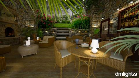Courtyard - Garden  - by Lackew