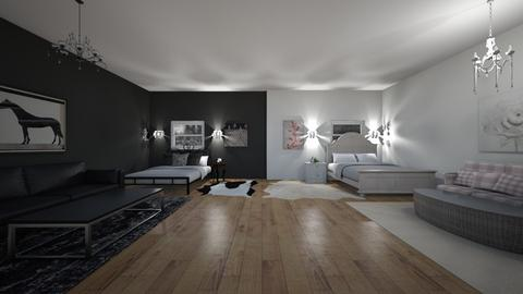 Two roomies - Glamour - Bedroom  - by Oyisha