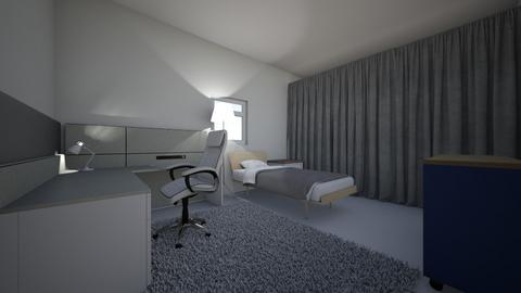 My room - Minimal - Bedroom  - by pcrp