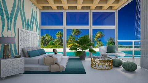 Hotel Tropics - Modern - Bedroom  - by bgref