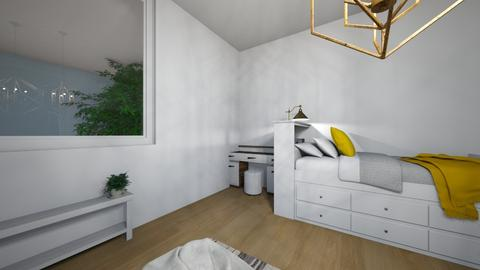 My new room  - Bedroom - by jennydarley