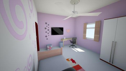 Meu quarto  - Bedroom - by Beatriz B