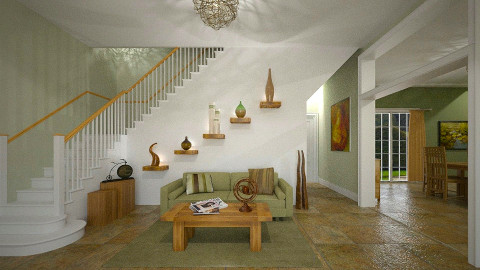 Foyer Staging - by Lackew