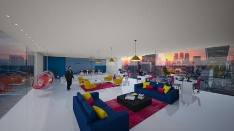Modern Playful  - Office - by debbystr