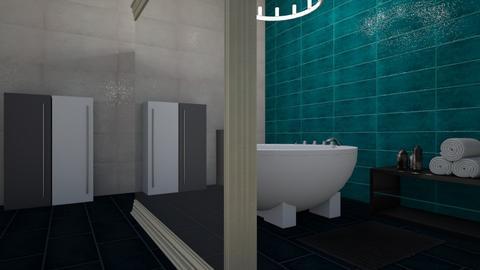 assignment1 minimal - Minimal - Bathroom  - by vassilianna