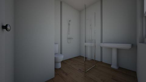 Bathroom 90 shower door - Bathroom  - by jphili