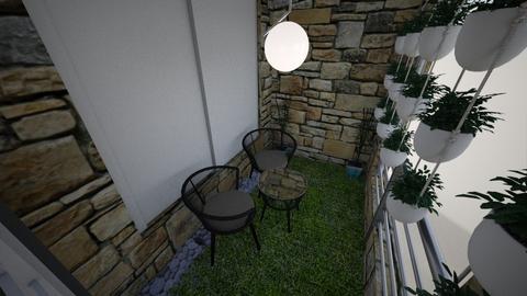 ApartmentGardenArea - by ana mechelle