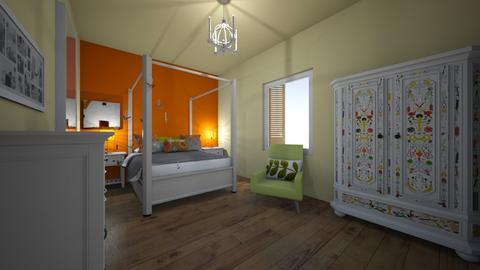 summer room I - Bedroom - by bettamarchegiano